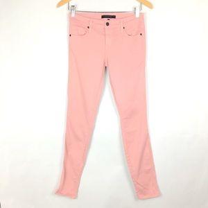 Genetic Jeans Sz 26 Womens Pink Skinny Stretch